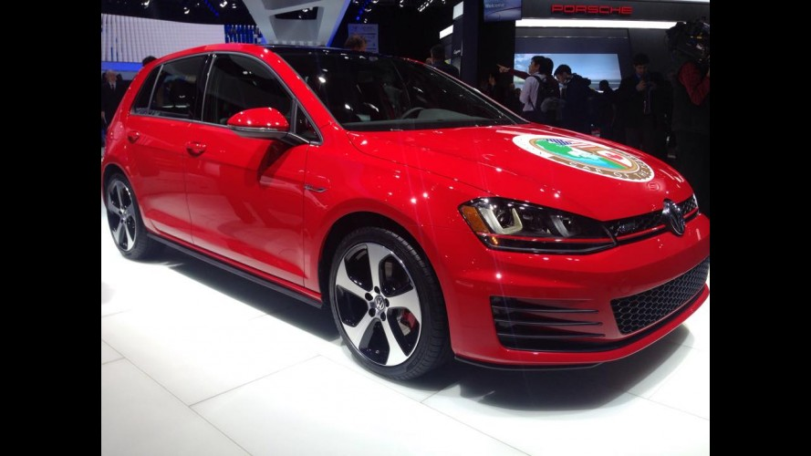 Salão de Detroit: Volkswagen Golf é o vencedor do Car of The Year 2015