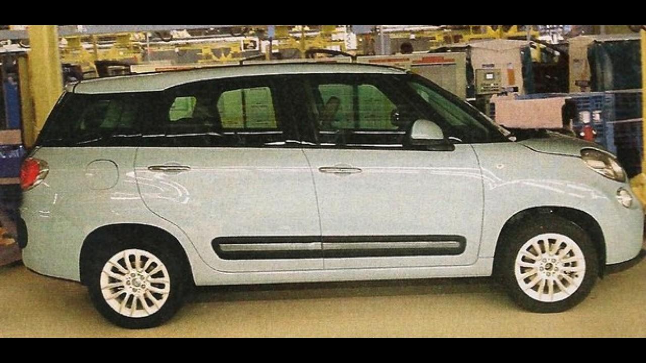 Com visual desajeitado, Fiat 500 XL é fotografado sem disfarce