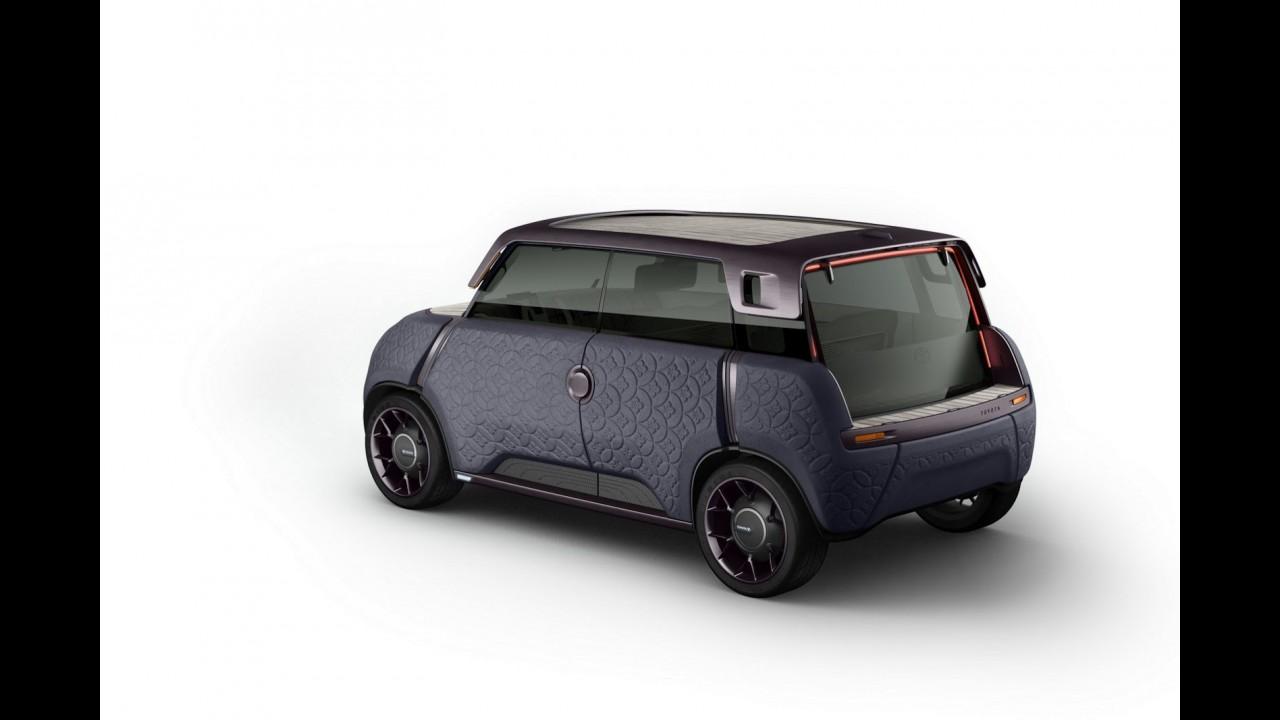 """Elétrico, conceito ME.WE é carro """"Lego"""" da Toyota"""