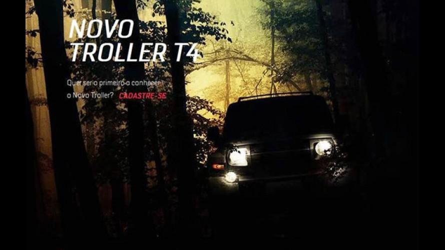 Novo Troller T4 começa a ser divulgado pela marca - confira o primeiro teaser