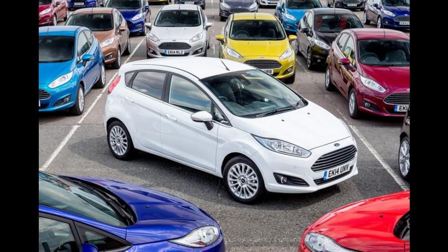 Segundo mais vendido da Europa, Fiesta também tem produção interrompida