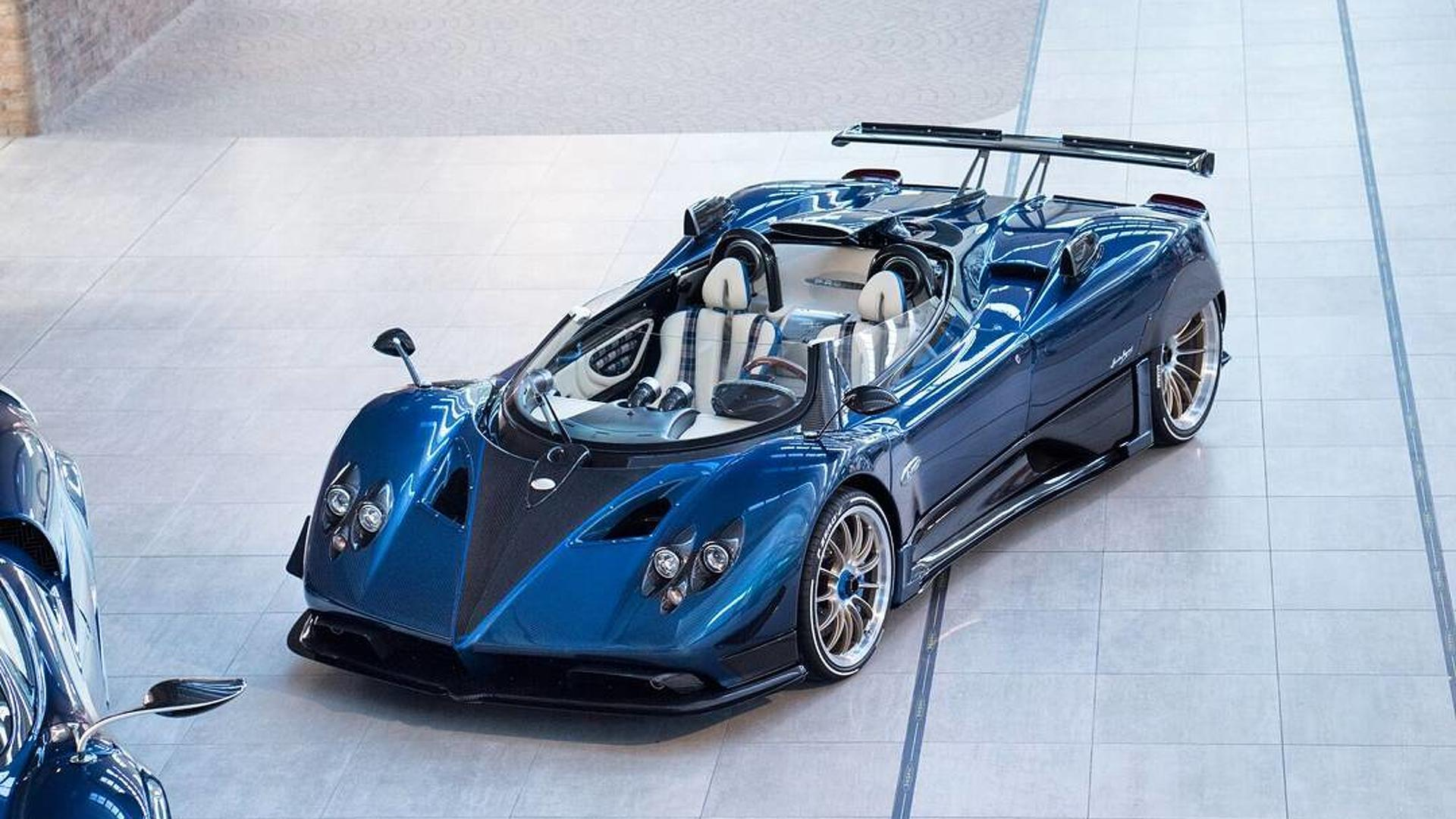 Pagani Huayra Replacement To Be Offered In Pure Electric Form ile ilgili görsel sonucu