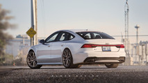 Audi A7 illustrations