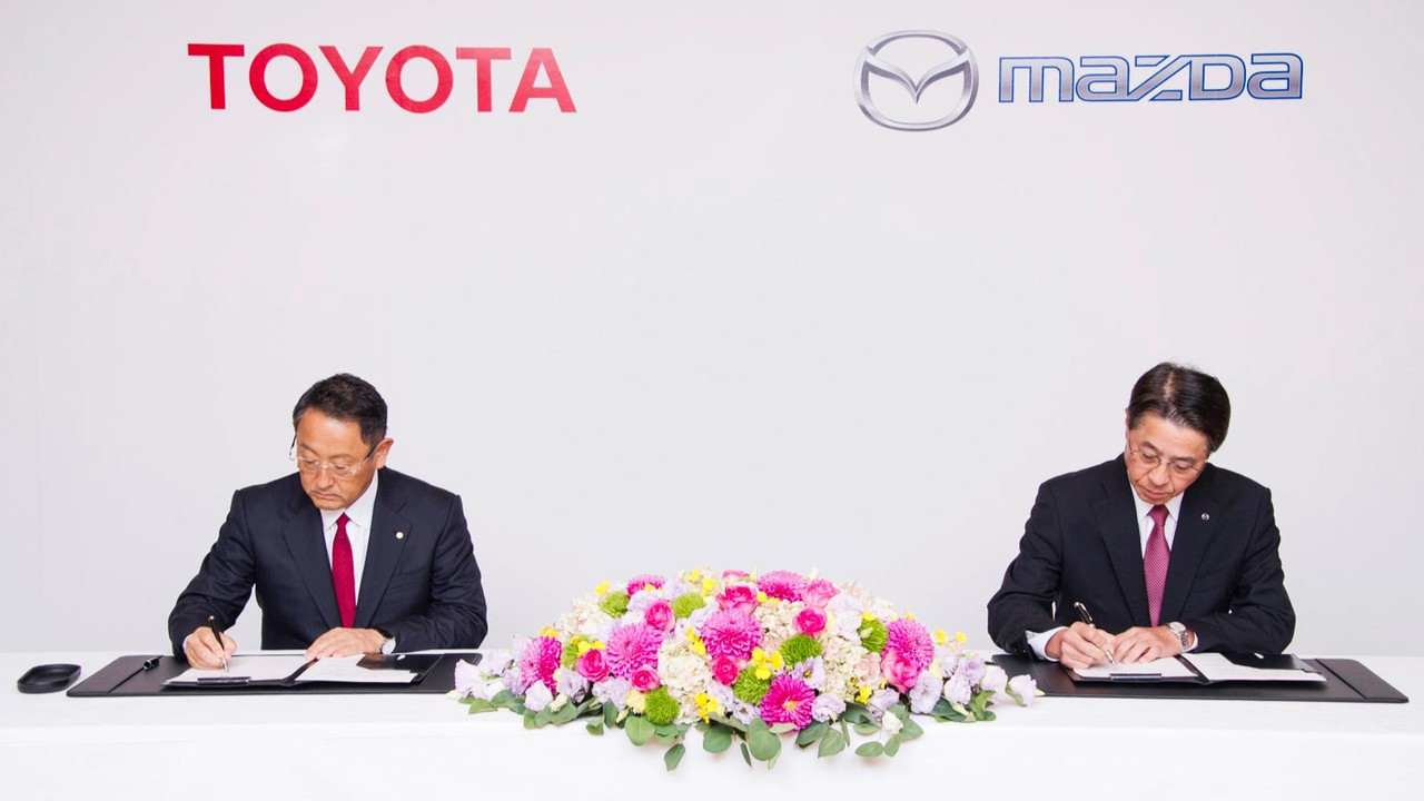 Toyota and Mazda announce new deal