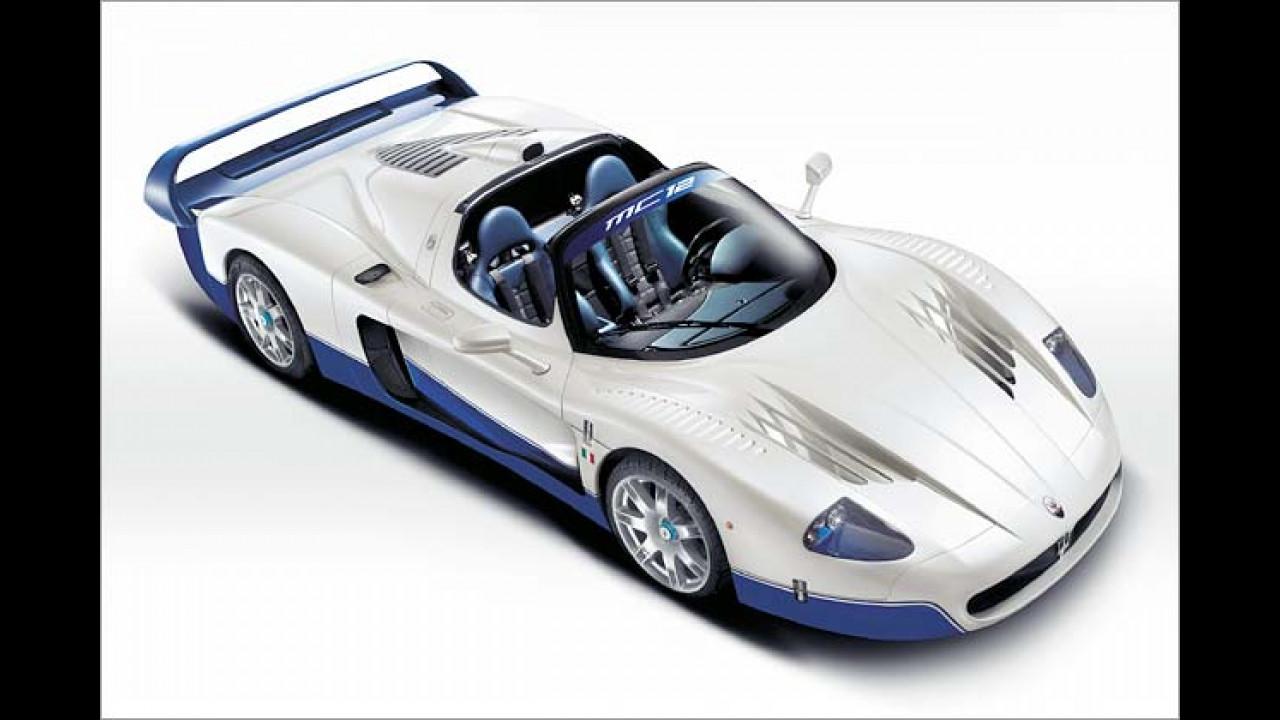 Maserati MC 12: 3,8 sec