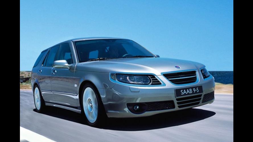 Saab 9-5: Facelift für die obere Mittelklasse aus Schweden