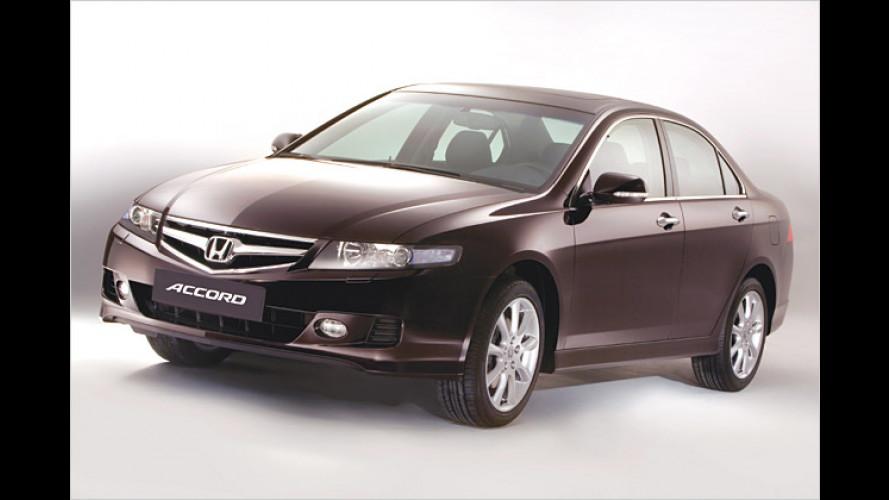 Honda Accord Facelift: Neue Kleider und Drive-by-wire