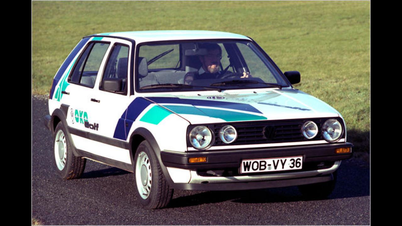 VW Golf II ,Öko-Golf