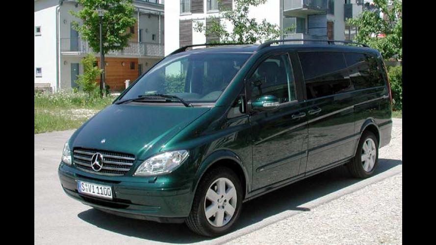 Mercedes Viano 2.2 CDI: Platz für Sechs im großen Shuttle