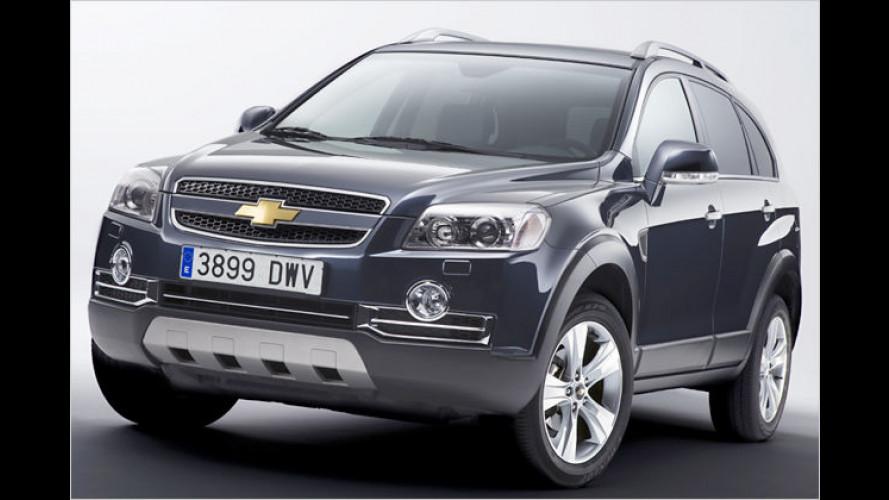 Dynamisch-elegant: Sondermodell Chevrolet Captiva Sport