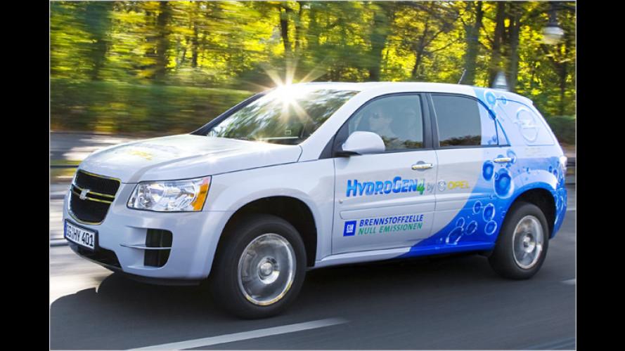 Der Antrieb der Zukunft? Eine Fahrt im GM HydroGen4