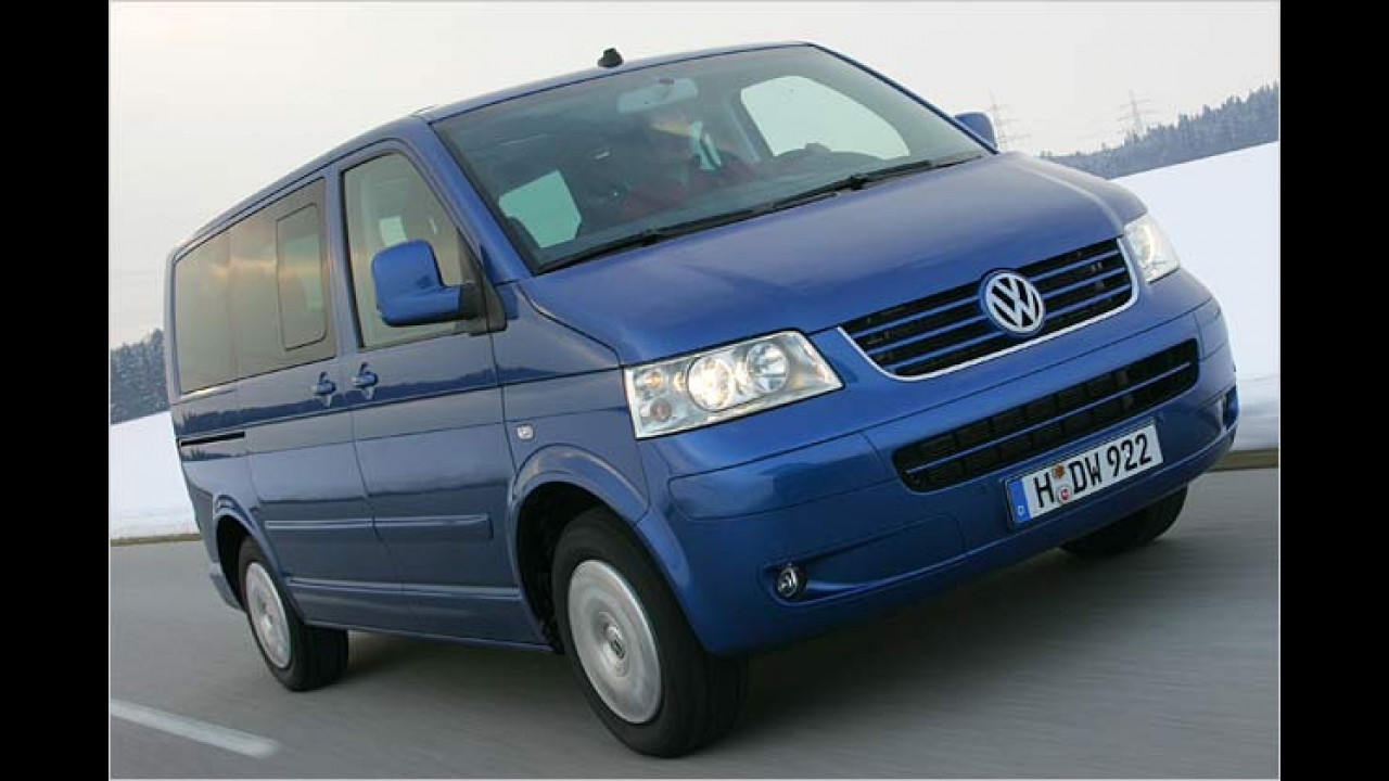 VW Bus ab 2006 fit für Euro 4