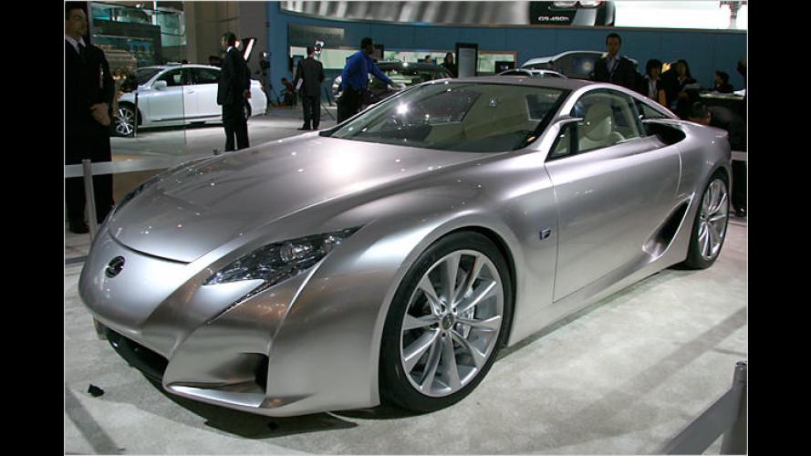 Ferrari-Schocker von Lexus: Seriennaher LF-A in Detroit