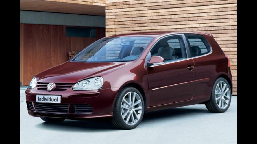 VW Golf Individual: Volkswagen tunt seinen Golf