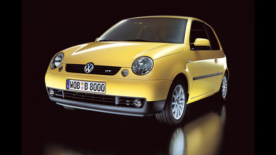 Volkswagen Lupo GT: Sunflower-Power und viele Extras