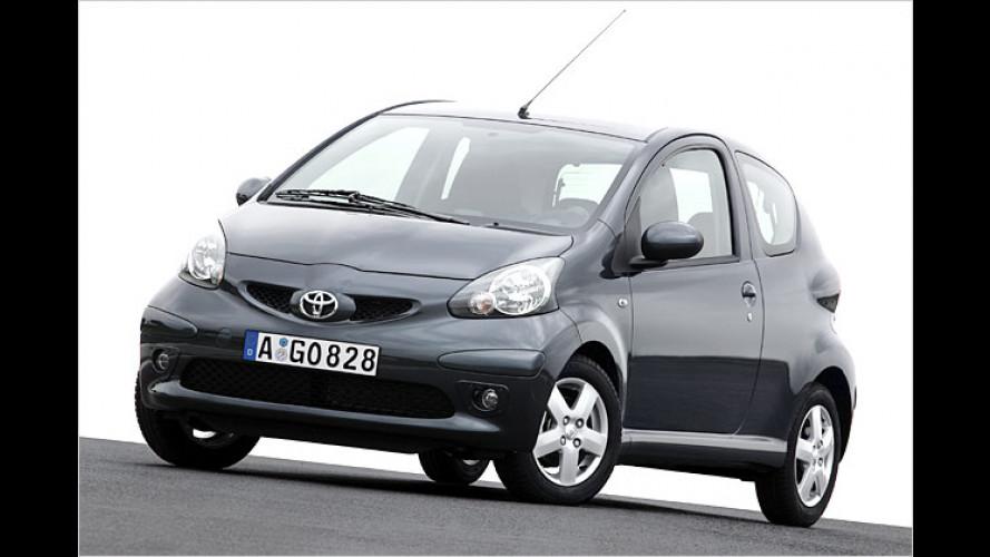 Toyota Aygo kommt: Knuffig und verspielt