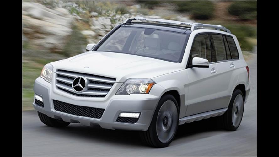 GLK wird klein und kantig: Erste Bilder vom Mercedes-SUV