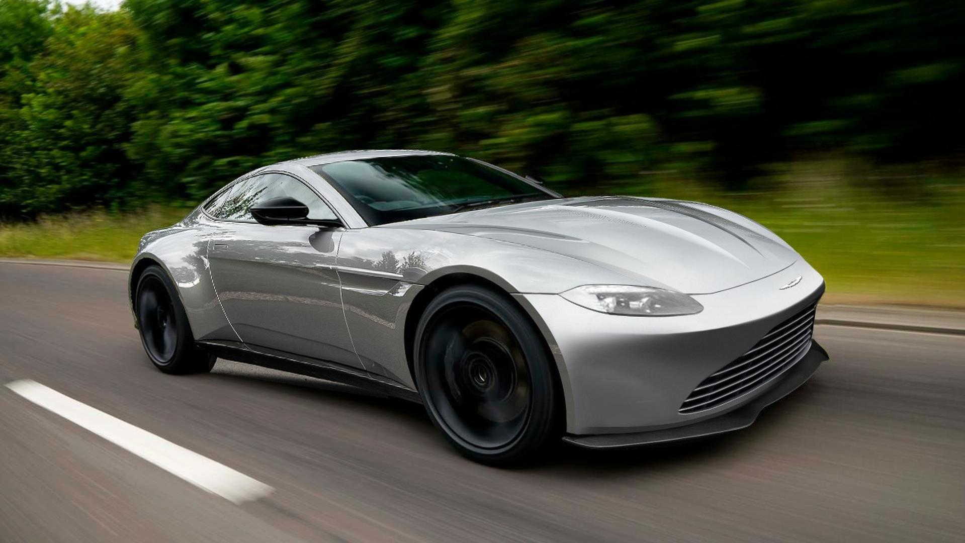 New Aston Martin V Vantage Teased UPDATE - Aston martin vantage v8