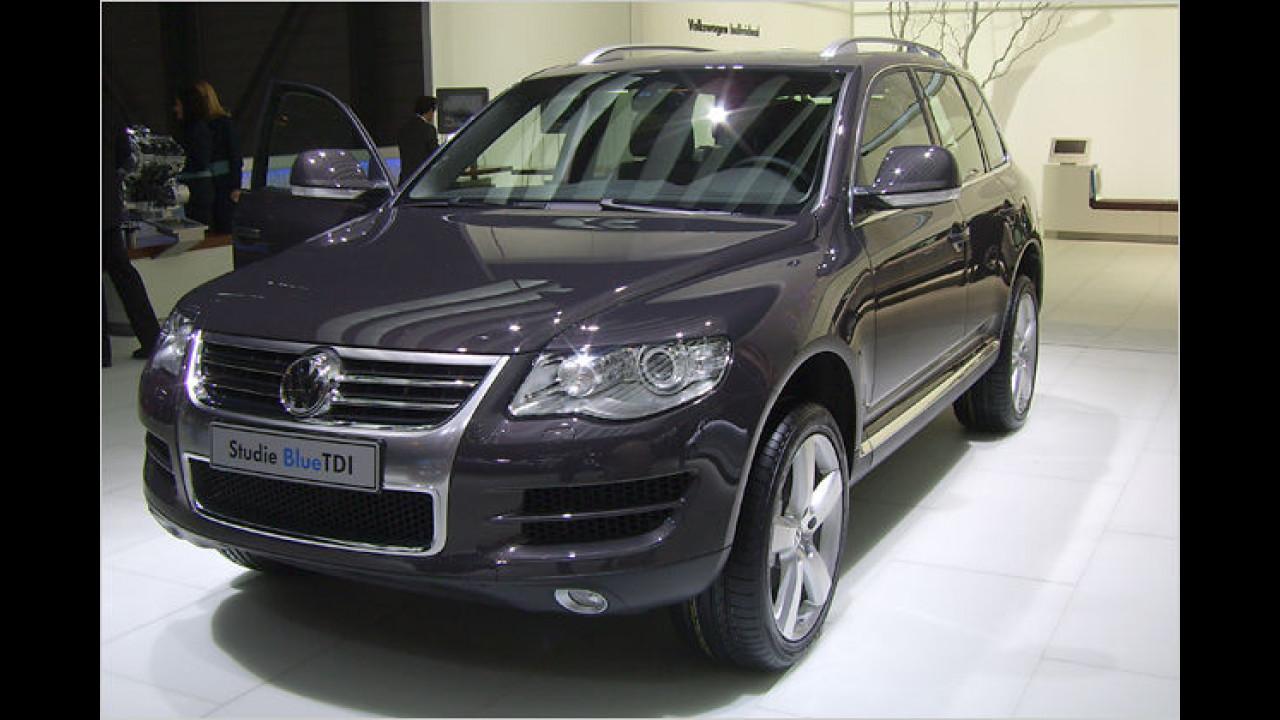 VW Touareg Blue Diesel