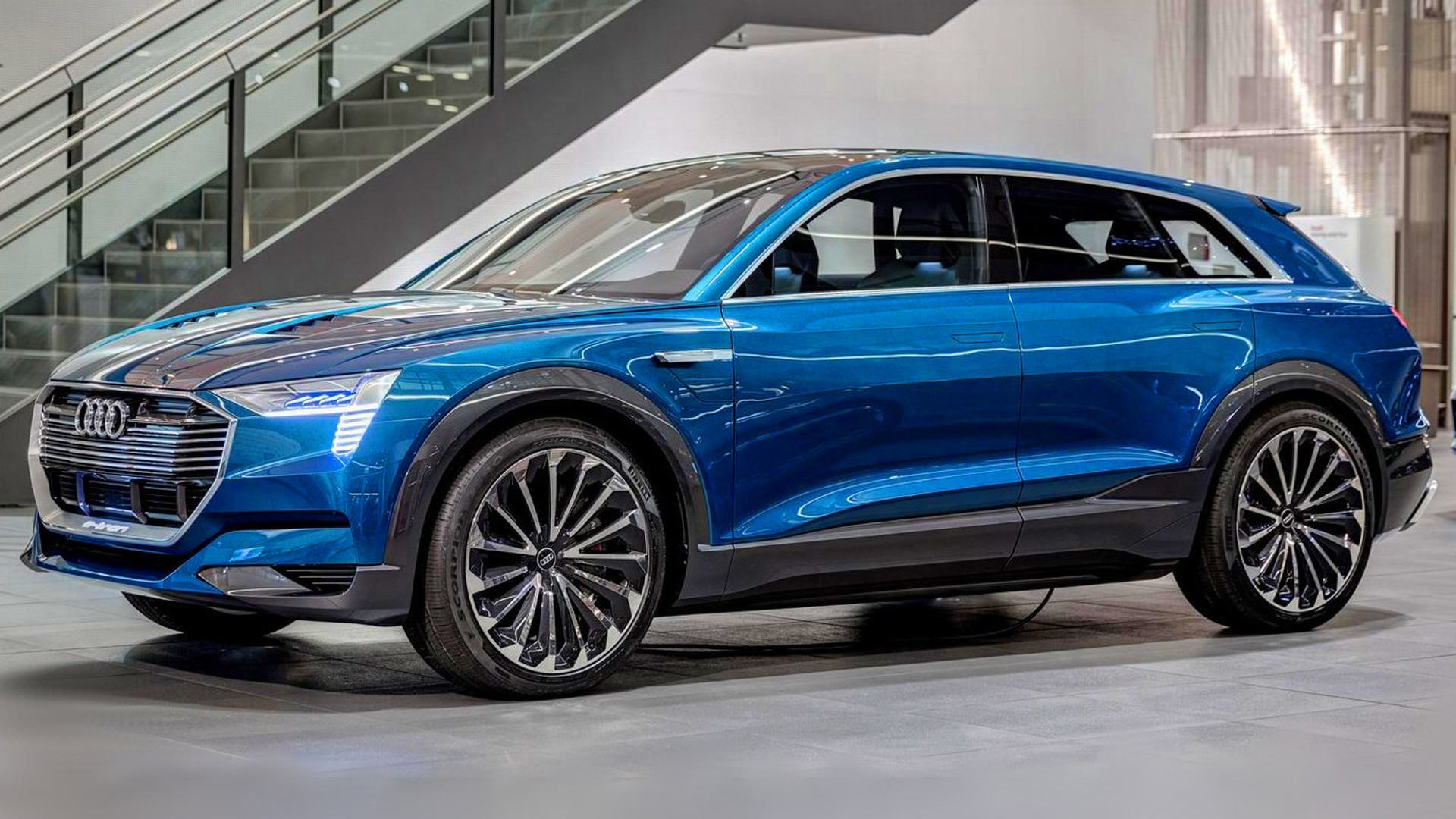 Image result for audi e-tron quattro