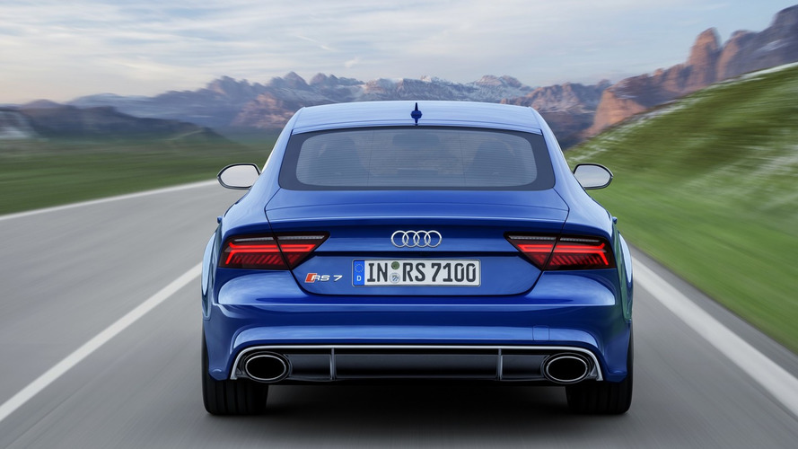 Pas de mode drift pour les Audi RS