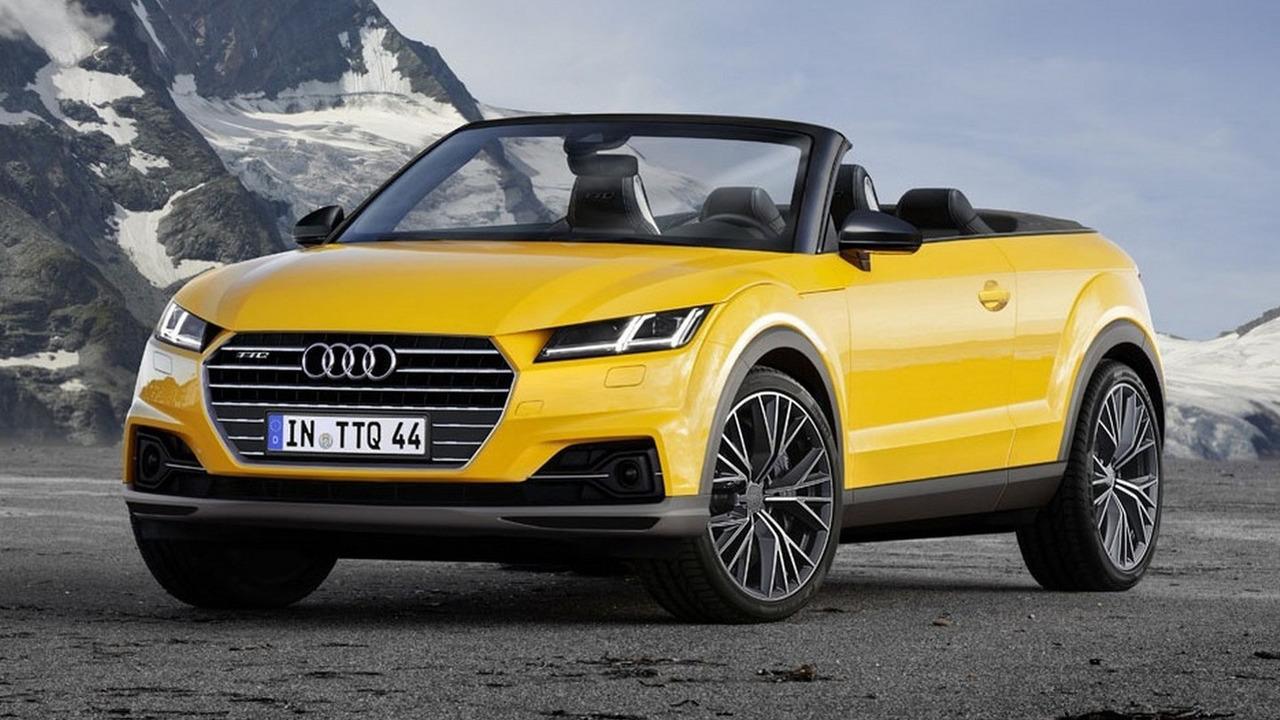 Audi TTQ Cabrio render