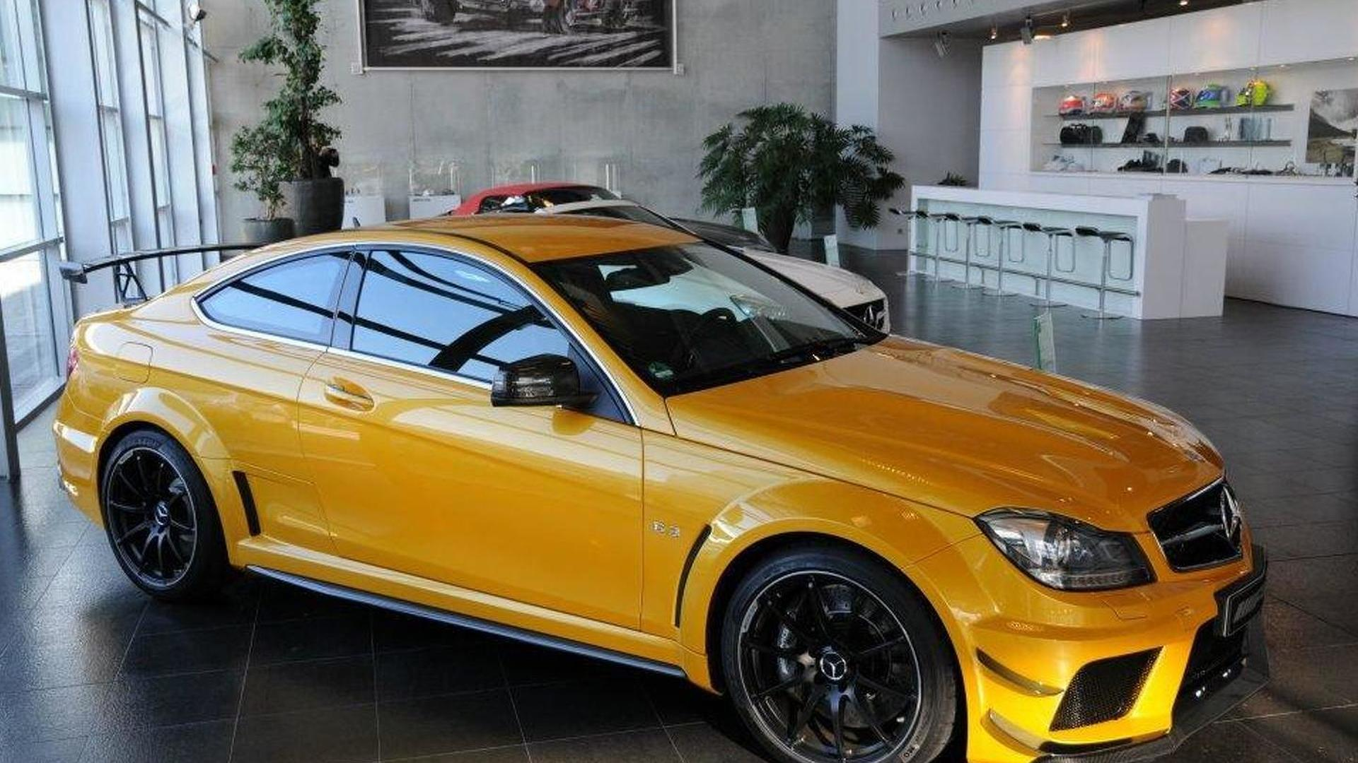 C63 Amg Black Series For Sale >> Solarbeam Colored Mercedes Benz C63 Amg Coupe Black Series