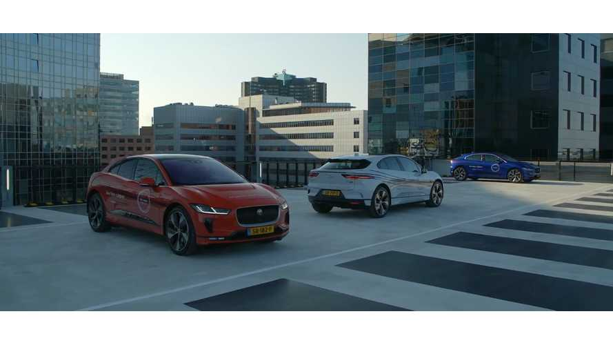Watch As Jaguar I-PACE Visits Amsterdam