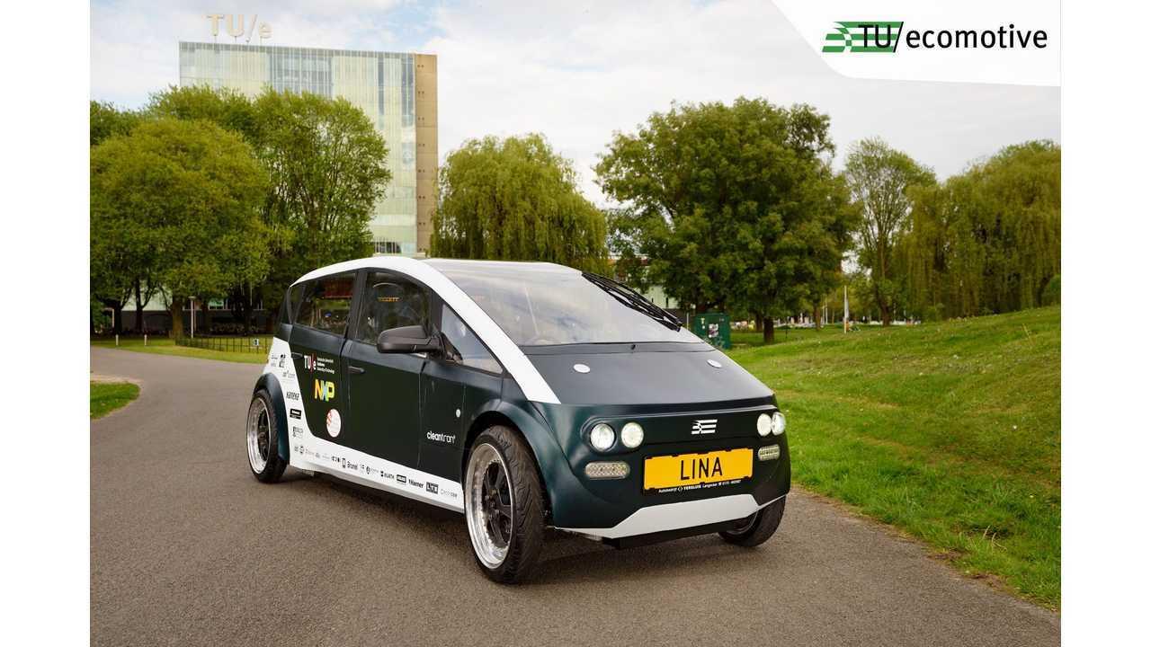 Lina, the lightweight bio-based electric city car