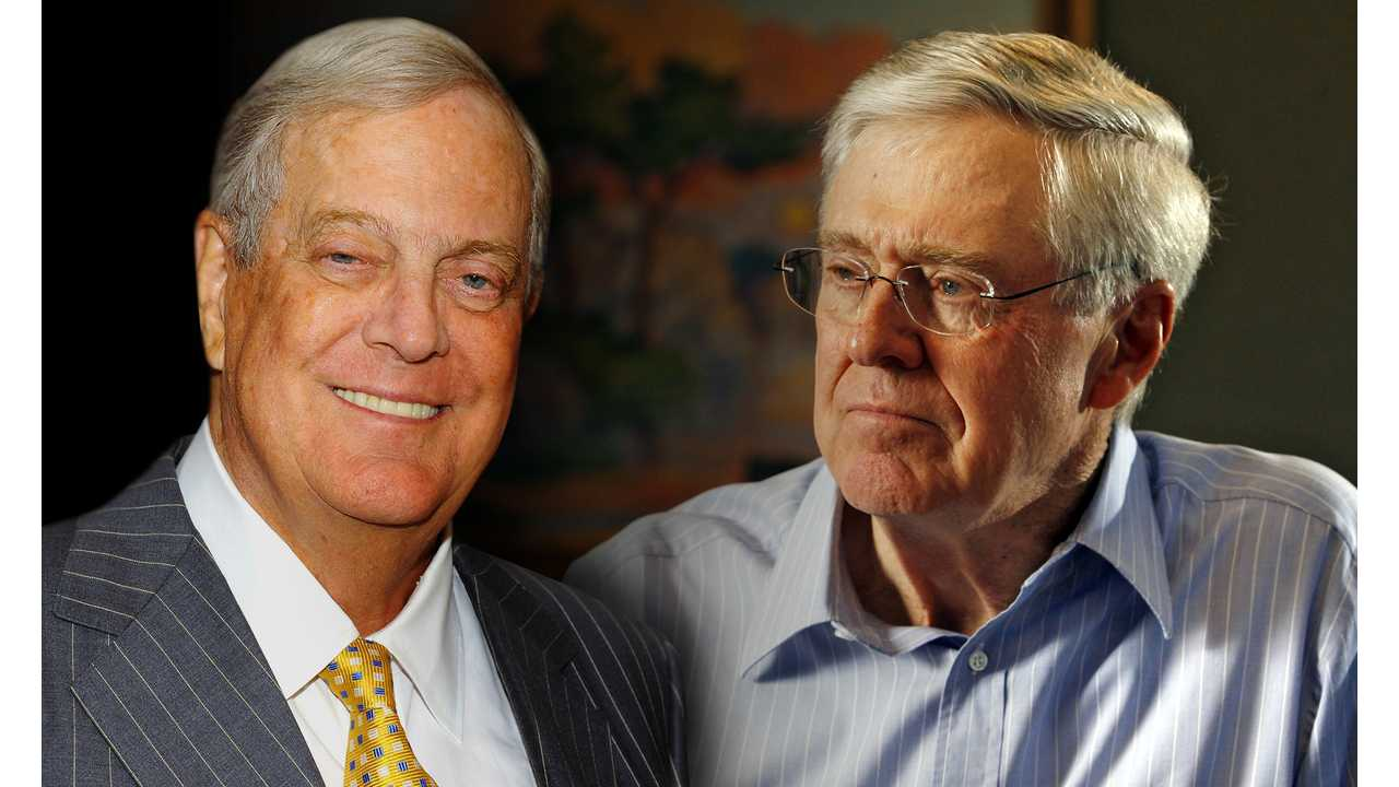 The Koch Brothers are two of the most influential fossil fuel advocates of our time.