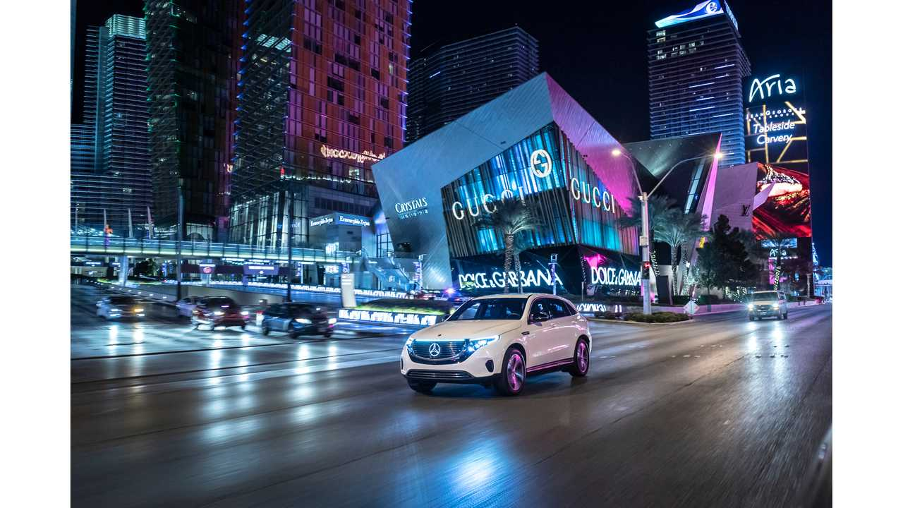 Mercedes-Benz EQC Electric SUV Is Sold Out