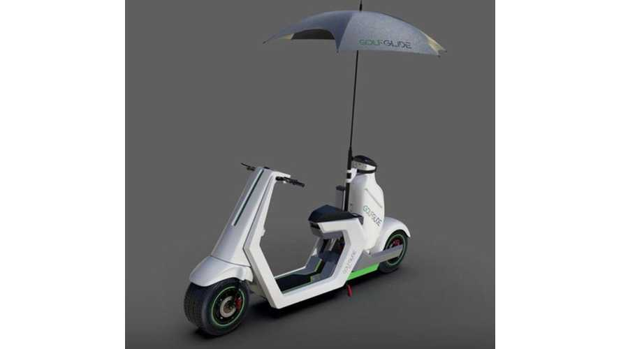 Golf Glide Electric Golfing Scooter Is Rather Odd