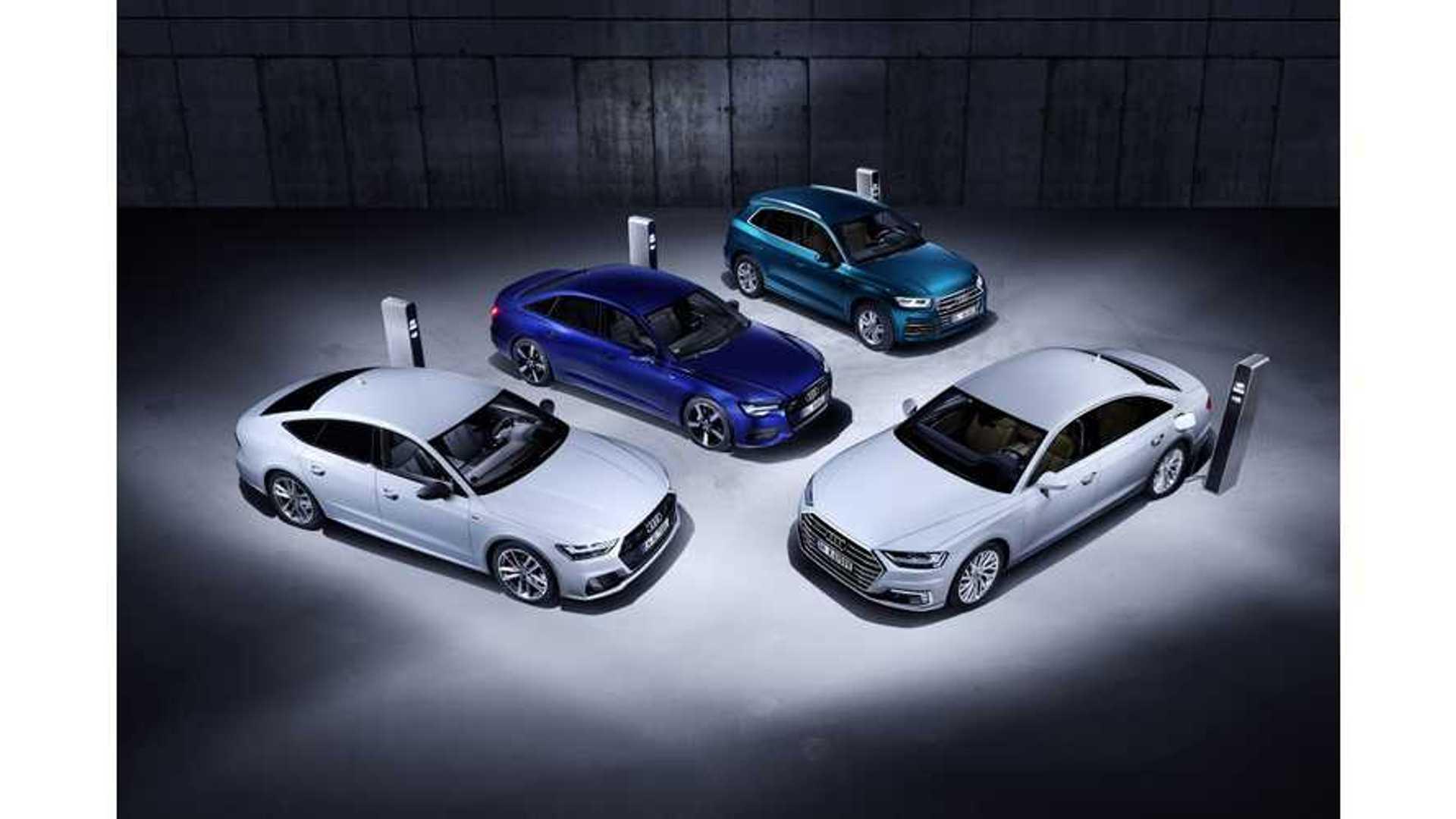 Audi Announces 4 New Plug In Hybrids Q5 A6 A7 A8