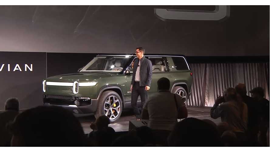 Let's Look Back At The Rivian R1S Electric SUV Live Reveal: Video
