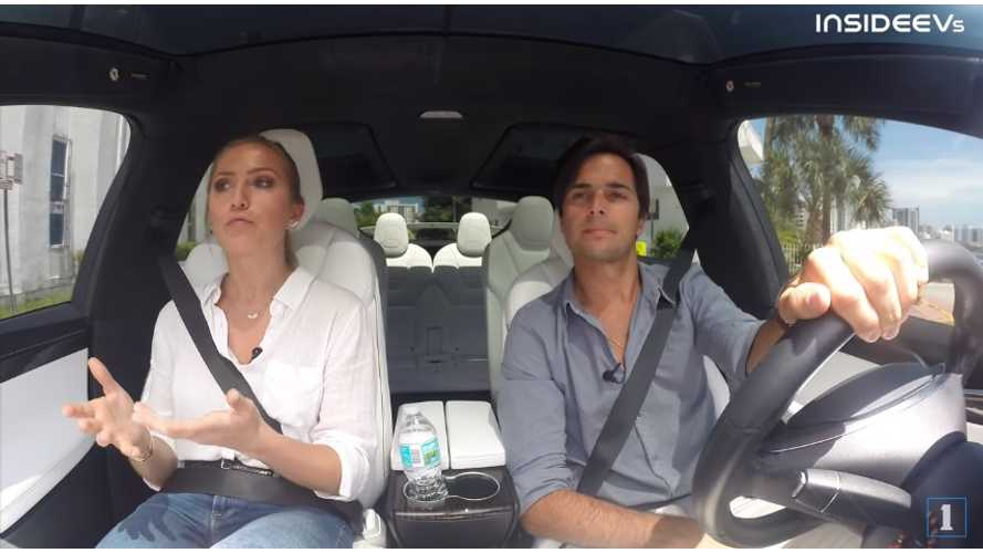 Exclusive: Formula E Driver Nelson Piquet Jr Talks EVs, While Driving A Tesla Model X - video