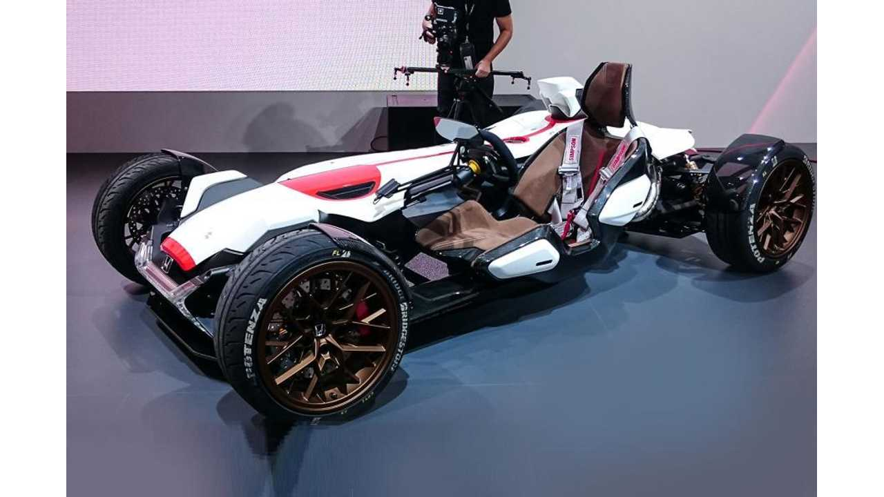 Honda Patent Filing Reveals Plans For Open-Wheel Electric Sports Car