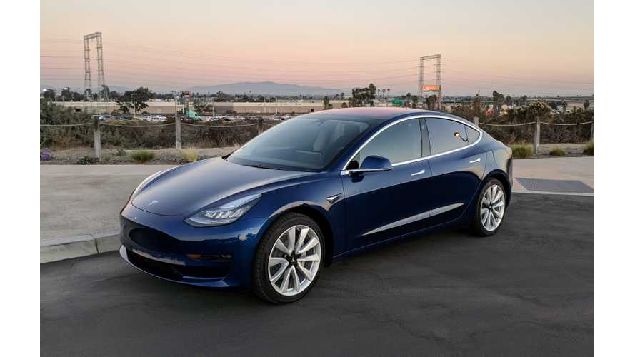 First Confirmed Non-Employee Delivery Of The Tesla Model 3