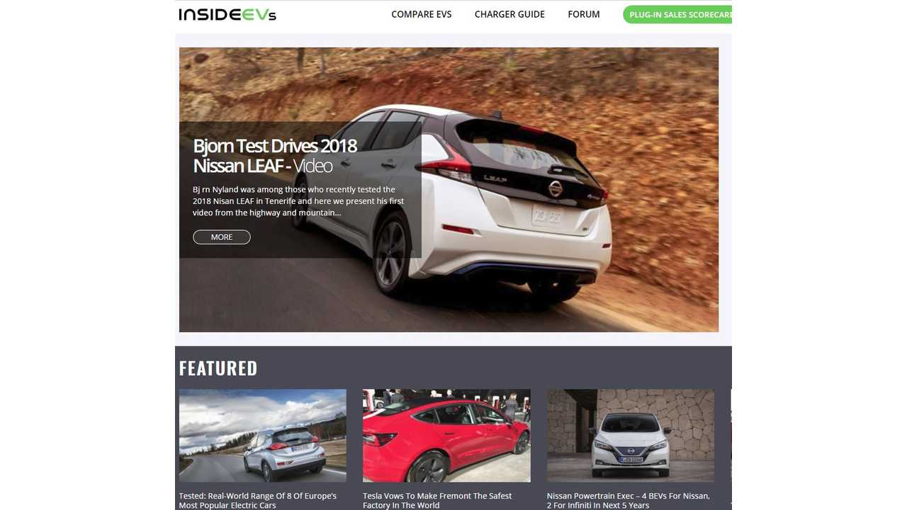 Tomorrow, InsideEVs Will Look New - Here's Some Of What To Expect