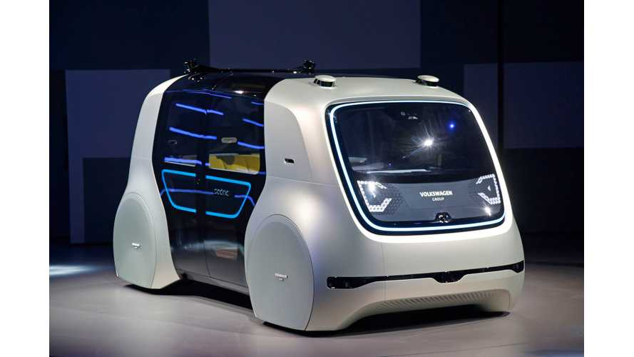 Volkswagen To Launch Fully Autonomous Electric Vehicles Starting In 2021