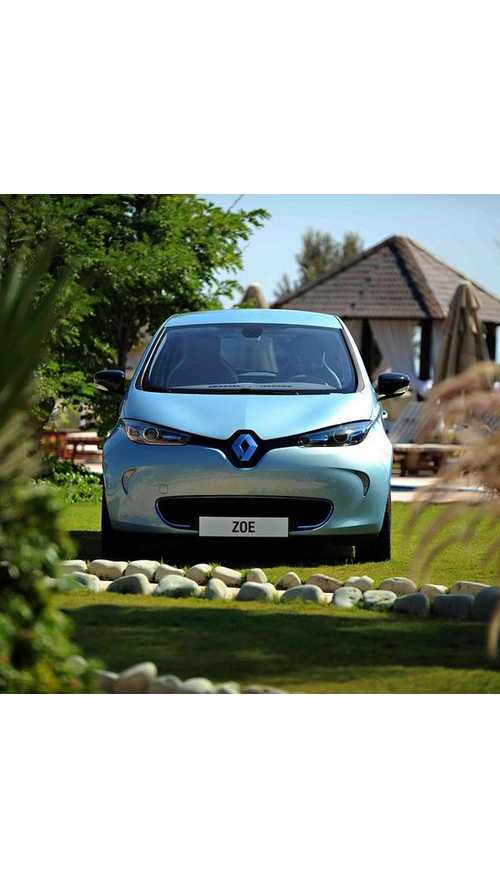 Just In Time For Thanksgiving, Renault ZOE Launches In Turkey
