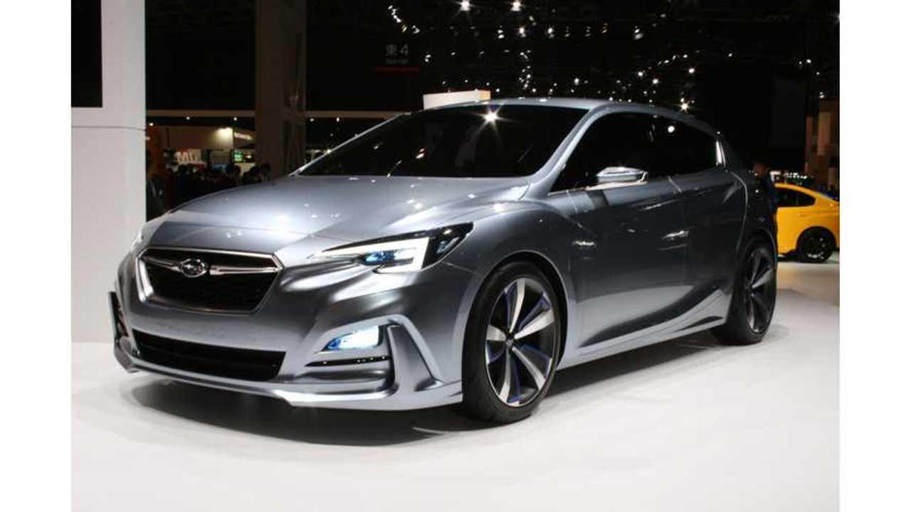 Subaru Hints At Upcoming 2018 Compliance PHEV