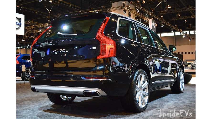 Pilot Assist II To Come Standard On 2017 Volvo XC90 T8 PHEV