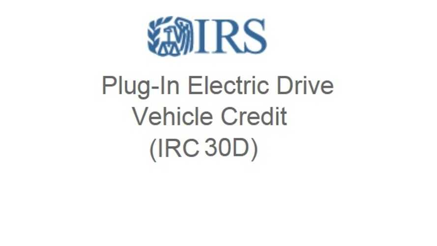 House Republicans Propose Removal Of $7,500 EV Tax Credit This Year