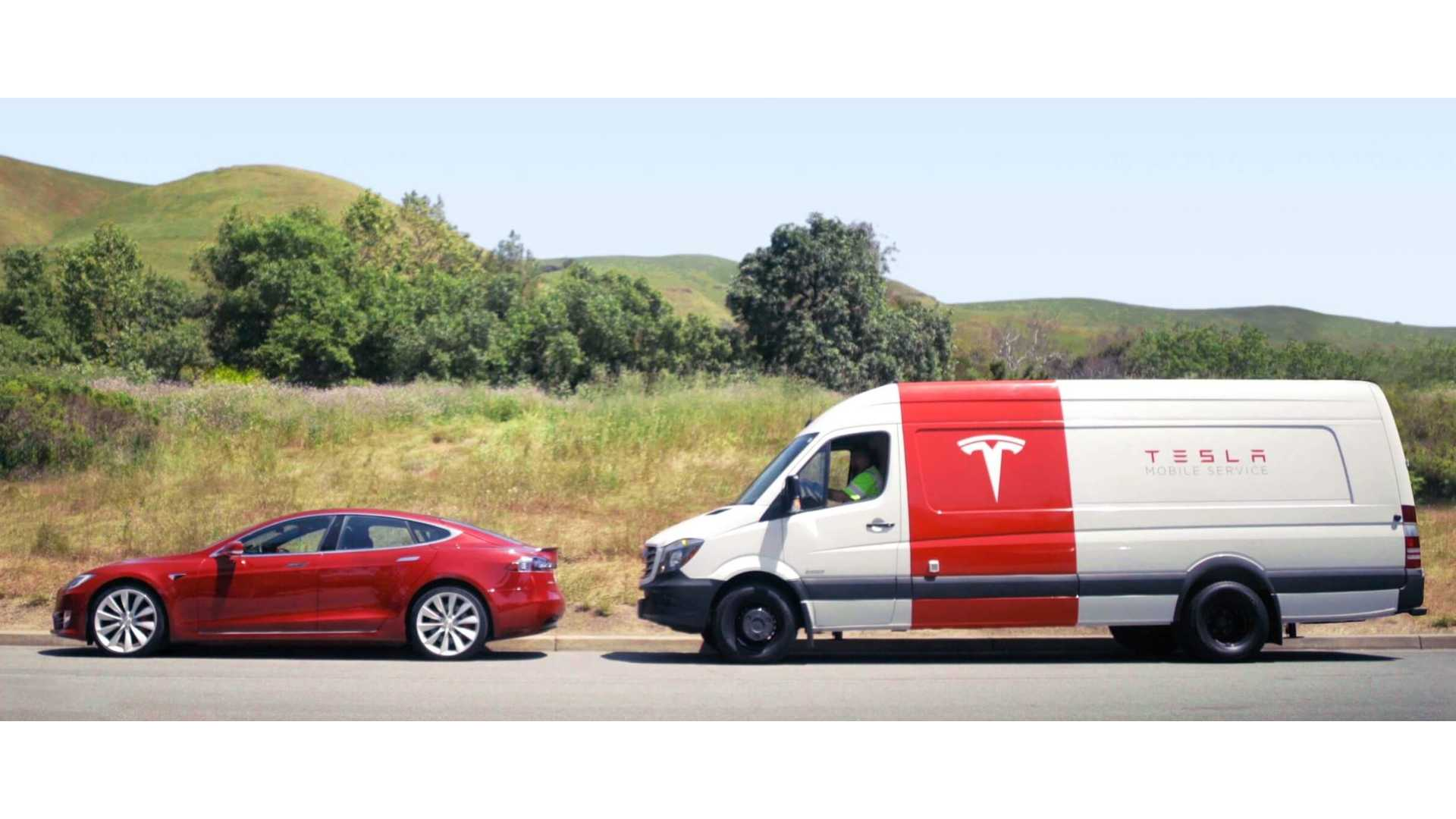 Tesla S New Mobile Service Vehicles Will Be Electric Bout Time