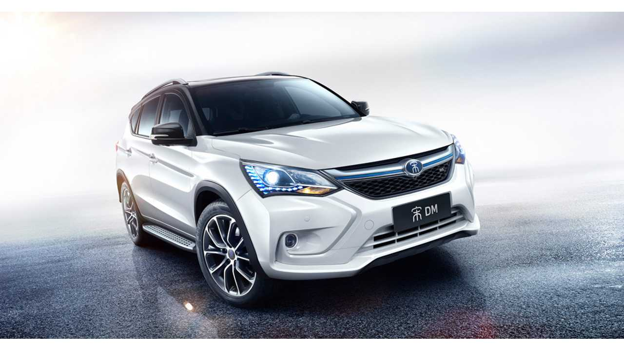 China's taking the lead in plug-in vehicle production may spur the rest of the world to act more quickly (BYD Song PHEV pictured)