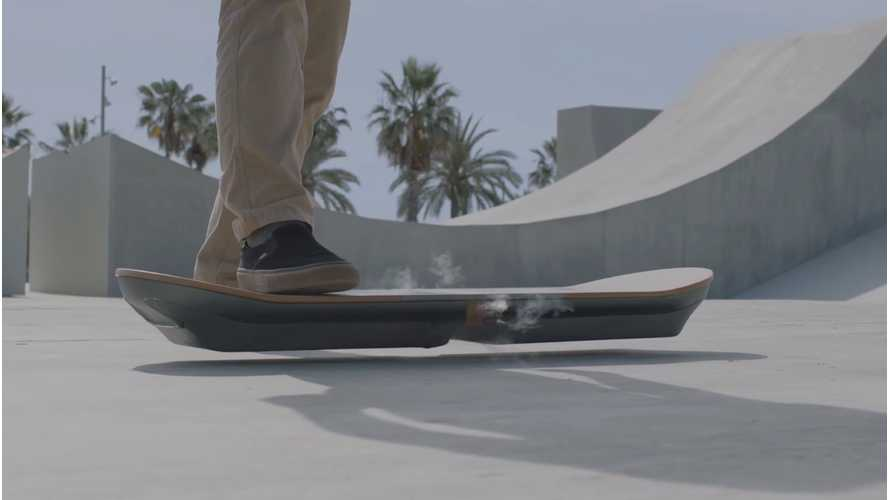 Lexus Hoverboard Is For Reals - Video