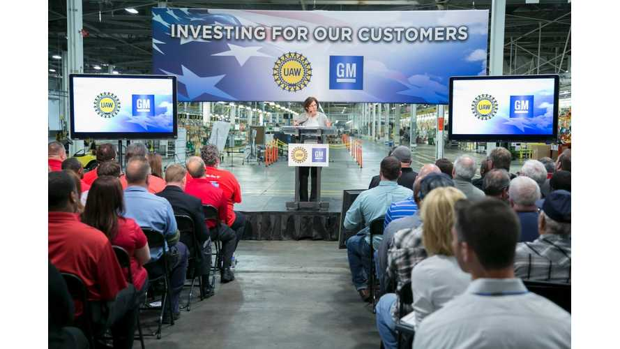 General Motors Invests $245 Million Into Orion Assembly For Bolt, New Vehicle Program