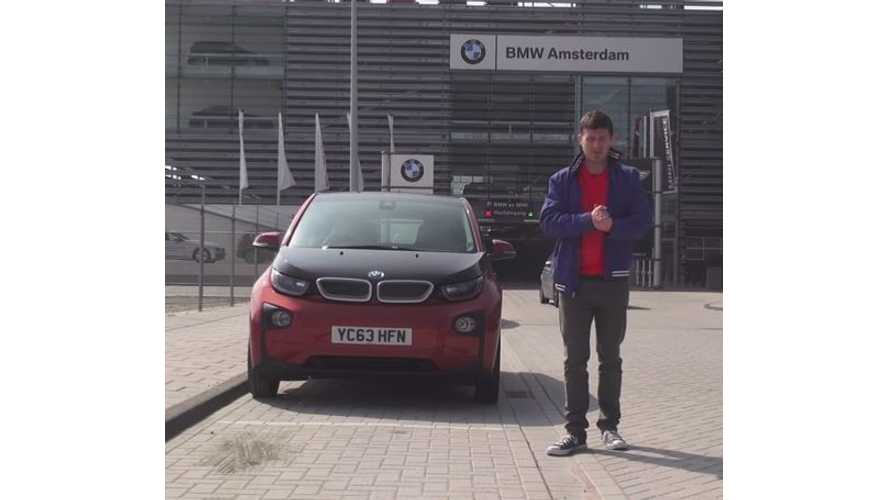 BMW i3 Road Trip From London To Amsterdam - Video