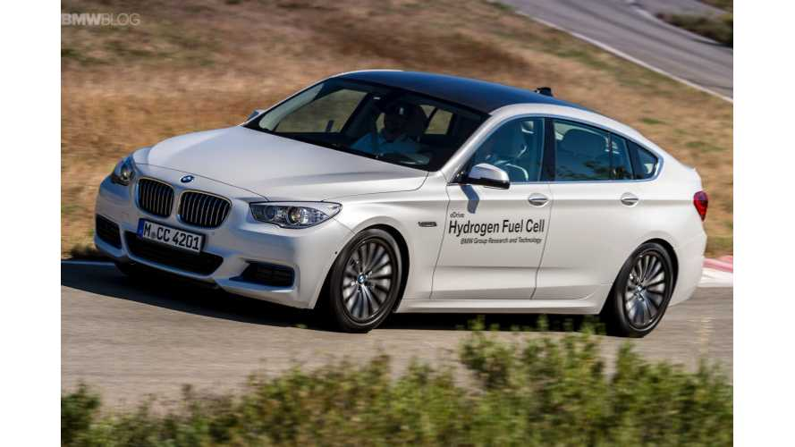 BMW Prototype Hydrogen Fuel Cell - First Drive