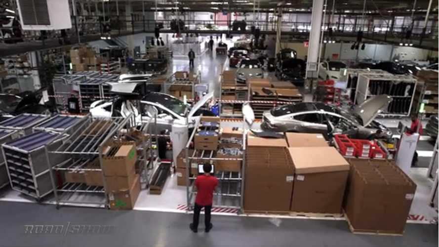 Tour Tesla's Fremont, California Assembly Facility - Video